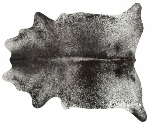 Salt and Pepper Black Brazilian Cowhide Rug Cow Hide Area Rugs