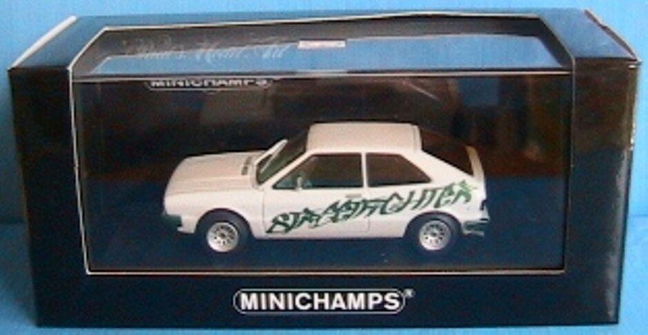 VW VOLKSWAGEN SCIROCCO STREETFIGHTER 2006 blanc METAL MINICHAMPS 430050424 1 43