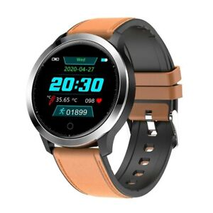 F68 Smart Sport Watch Körpertemperatur Pulsuhr Fitness Tracker