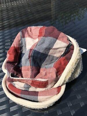 OLD STOCK DESIGNER BARGAIN! SCOTCH SHRUNK Trapper Hat Size S Approx 2-5 Rrp £35