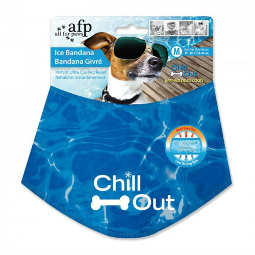 All For Paws Chill Out Ice Bandana Instant Ultra Cooling Relief for dogs