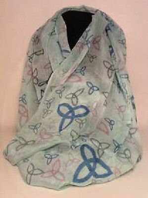 Lovely Triquetra  Scarf Trinity Triskele Charmed Symbol Scarf