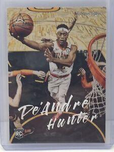 2019-20-Panini-Chronicles-Luminance-152-De-039-Andre-Hunter-RC-Rookie-Atlanta-Hawks