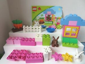 Lego Duplo 4623 Rabbit Garden Complete Set Easter Gift Bunny Ebay