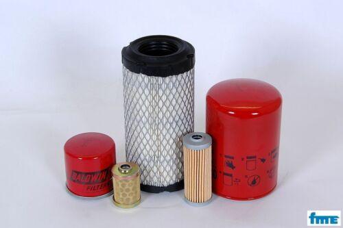 Filterset Takeuchi TB 108 Motor Yanmar 2 TNE 68 Filter