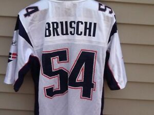 new arrival edc3b d63d5 Details about NFL throwback Reebok New England Patriots throwback jersey  Tedy Bruschi sz XL