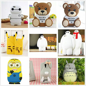 3D-Cute-Luxury-Cartoon-Animal-Silicone-Rubber-Gel-Tpu-Cell-Phone-Case-Cover-Skin