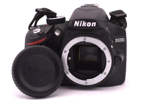 Nikon D D3200 24.2mp Slr Numérique - Noir (corps Seulement) - Obturateur Comte :