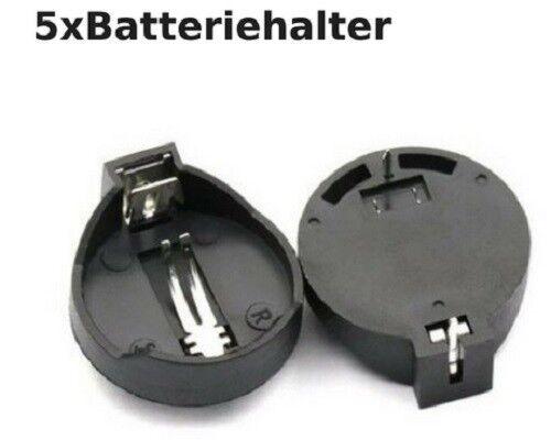 5X DIY CR2032 3V Knopf-Zellen-Batterie-Halter-Kasten mit Schalter  ZD G4