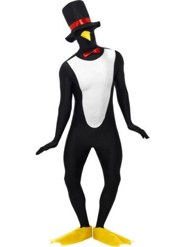Pinguin Butler Second Skin Kostüm Stretchanzug Winter Tier