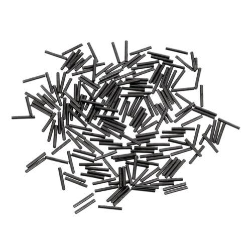 200 Stück Angeln Zubehör Klemmhülsen korrosionsbeständig Angelausrüstung