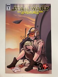 IDW STAR WARS ADVENTURES #1 HEROES & FANTASIES RE COVER : NM CONDITION