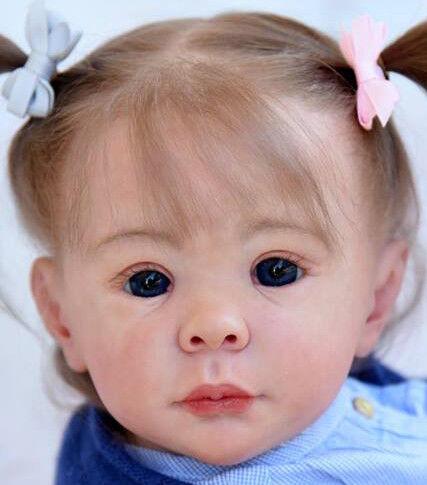 IDA@Reborn Baby Bambino Doll Bambola KIT KIT DA Carola wegerich @ 24  @ Corpo includono
