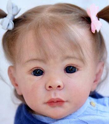 """Rapimento Ida@reborn Baby Bambino Doll Bambola Kit Kit Da Carola Wegerich @ 24"""" @ Corpo Includono-mostra Il Titolo Originale"""
