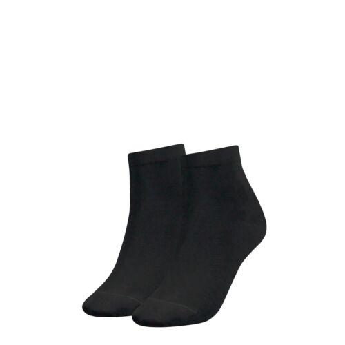 35 bis 42 2 Paar TOMMY HILFIGER Damen Quarter Sneaker Socken Gr