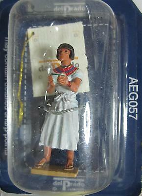 Obbediente Aeg057 - Figura Egipcia De Plomo - Del Prado
