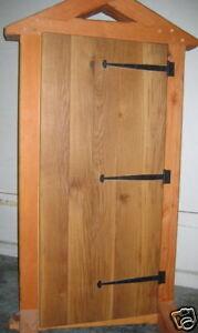 Image Is Loading Wooden Door Oak Board Amp Batten Natural Finish