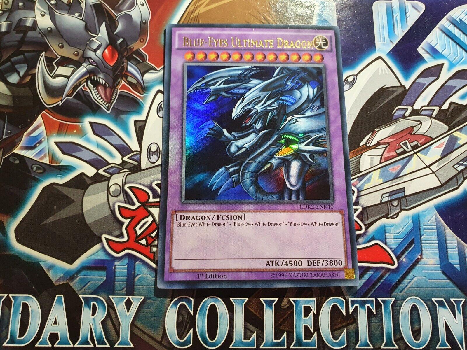 LDK2-ENK40 Blue-Eyes Ultimate Dragon Ultra Rare Unl Edition  YuGiOh