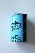 2X MALLORY 1000UF 250V ELECTROLYTIC CAPACITOR