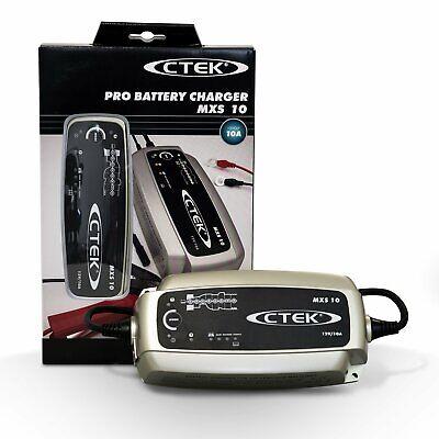 CTEK MXS 10 caricabatteria auto 12v DA AUTO BARCA TRANSPORTER AGM GEL Acido
