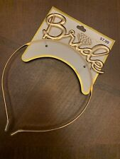 Bachelorette Sparkle Tiara Hen Party Crown Bride To Be Bridal Shower supplypf
