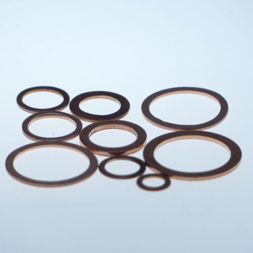 100 Stück Kupferringe Dichtringe 22x27x1,5 mm M 22