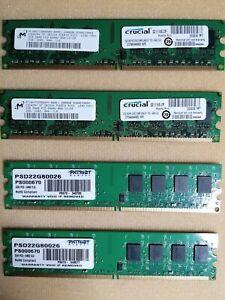 Memorie Ram DDR2 per pc fisso 4X2 GB