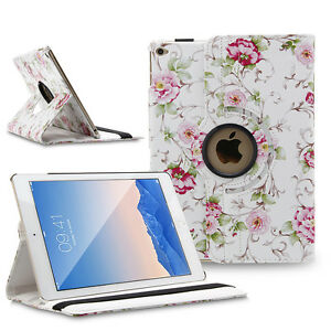 360 Rotating Leather Smart Case Cover Stand for Apple iPad 2 3 4/mini/Air Pro