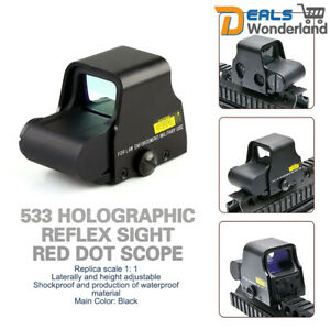 533-Holographic-Reflex-Sight-Red-Dot-Scope-Tactical-Red-Green-Rifle-Sight