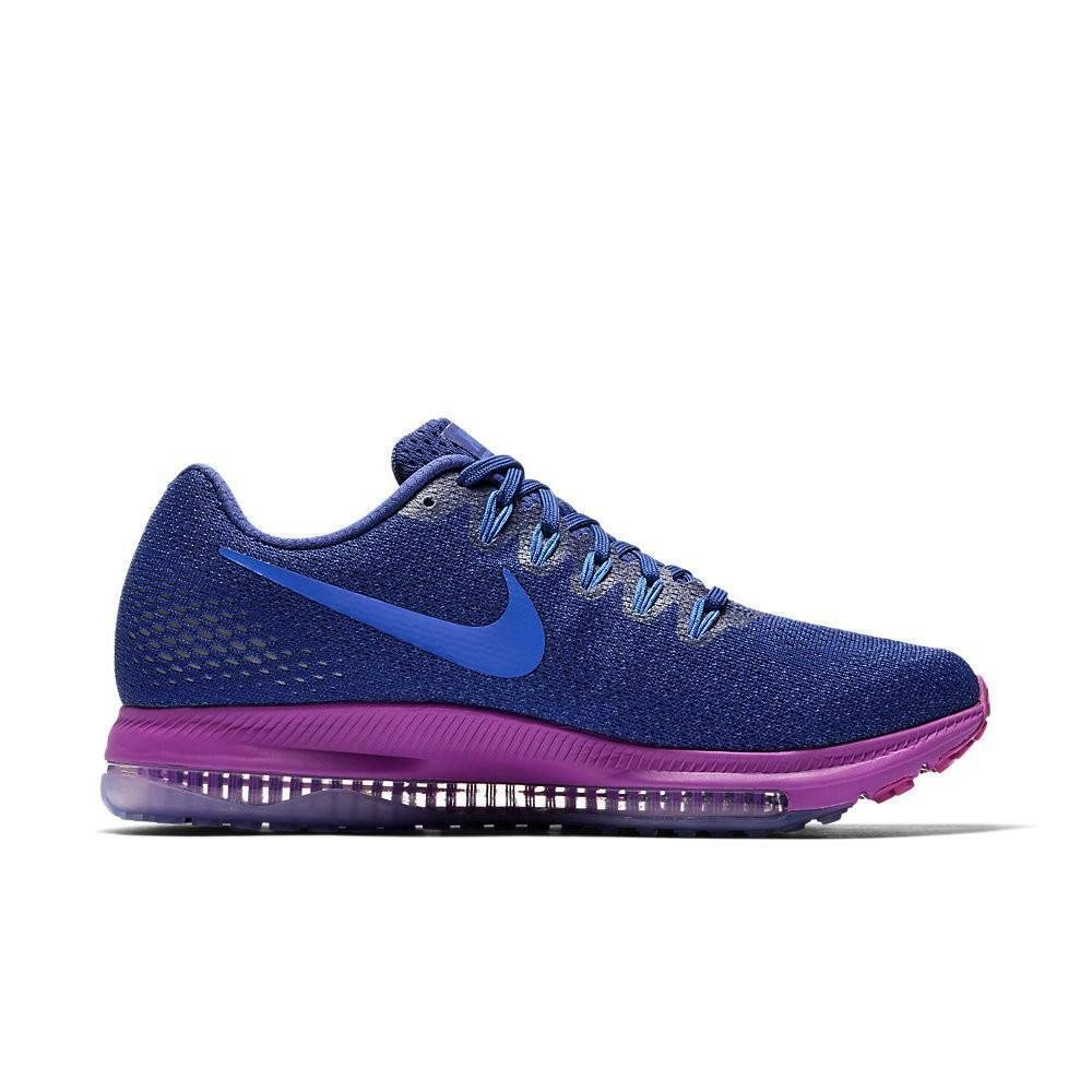 mujer nike zoom all out low deep royal azul running zapatos 878671 404