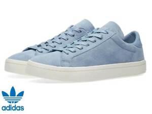 Adidas-Originals-Court-Vantage-Men-Trainers-Suede-CQ2563-Boxed-RRP-65