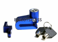 Motorcycle Scooter Disc Brake Wheel Lock Anodized Alloy Very Light Strong Honda