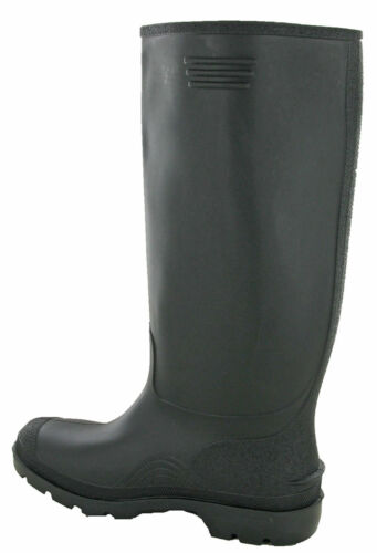 Dunlop Rubber Wellington Boots Pricemastor Mens Wellies Snow Black Green UK 6-12