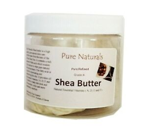Pure-African-Organic-Refined-White-Shea-Butter-8-oz