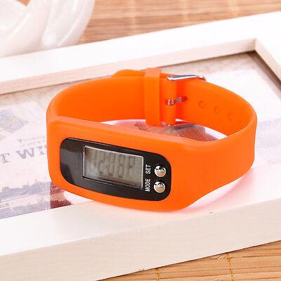 3D Smart Wrist Watch Bracelet Pedometer Step Walking Running Calorie Counter B6
