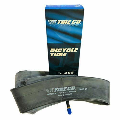 Pair of Two 26x2.80 Vee Tire 26 inch Bike Tire Inner Tubes Schrader Valve