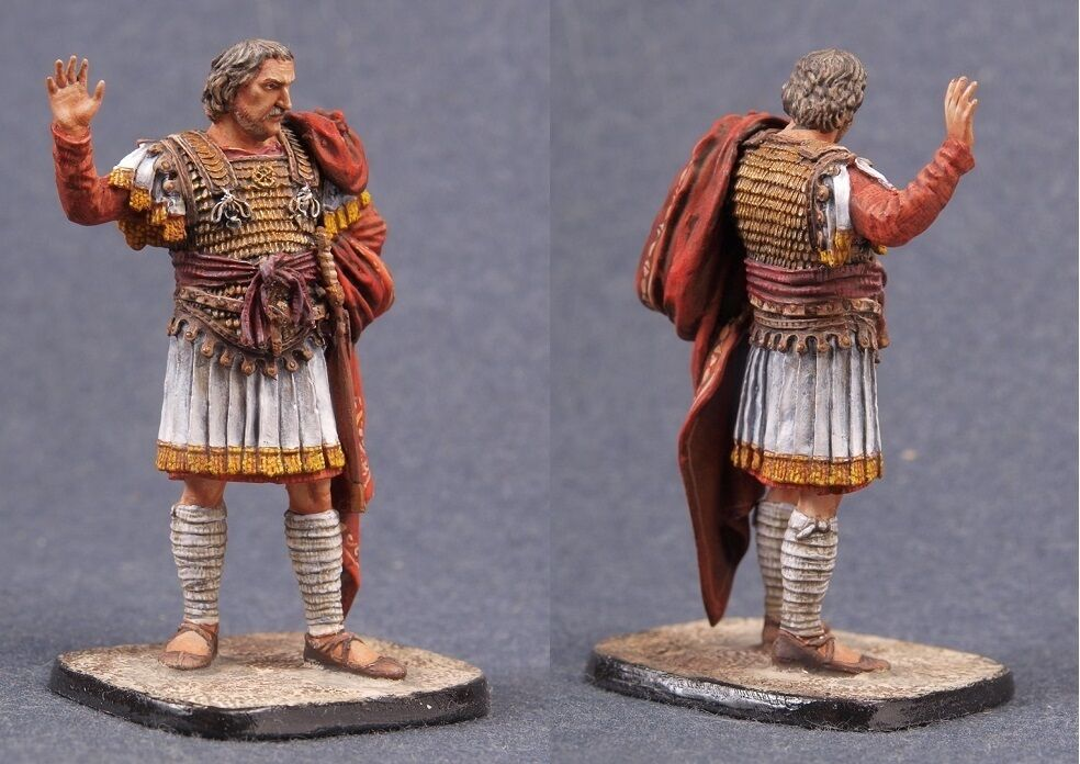 Tin toy soldiers ELITE painted 54 mm Flavius Belisarius, General of the Byzantin