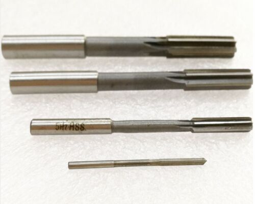 M/_M/_S select size 2 to 20mm H7 Machine HSS Straight Shank Milling Reamer