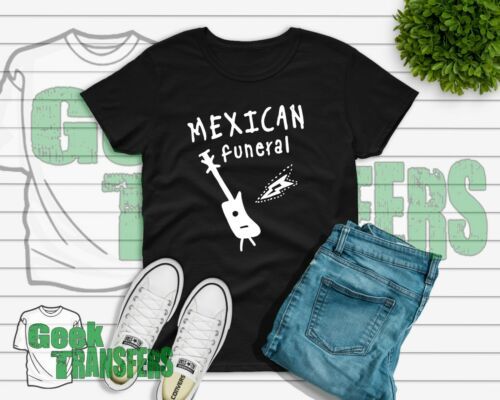 Dirk Gently -T-shirts UK SELLLER Unisex Womens Childrens Mexican funeral