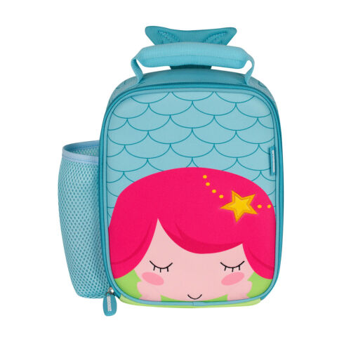 Blue Amooze Thermal Insulated Neoprene Lunch Picnic Portable Bag Mermaid