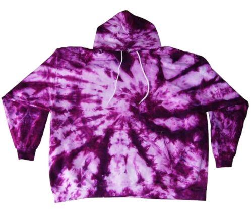 Tie Dye Hoodie Pullover Pocket Tye Die S M L XL 2XL 3XL Hanes Soft Cotton 90/%