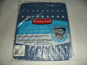 "Rubbermaid Sink Protector Mat Blue Mist 10.7"" X 12.7"