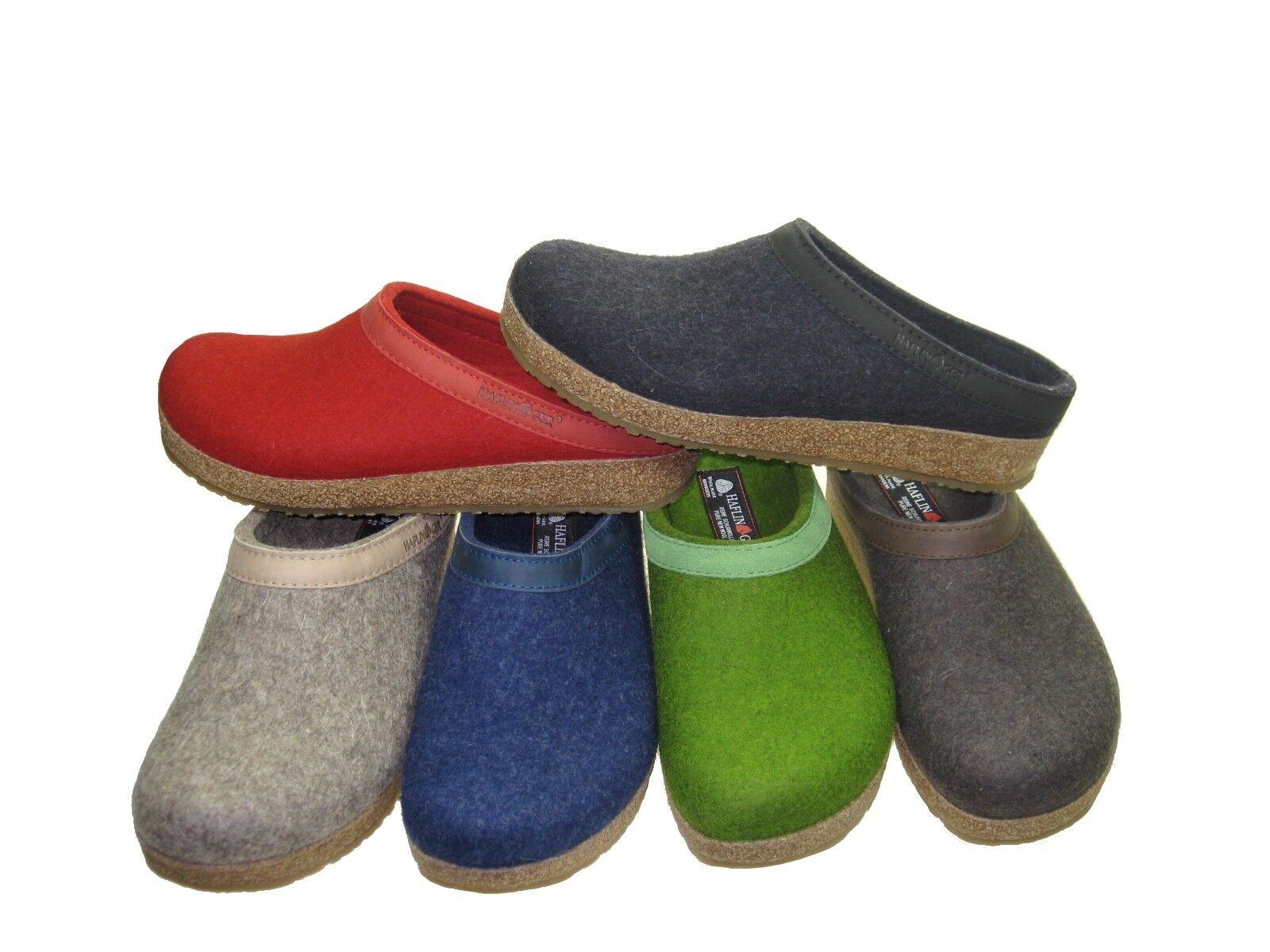 Nuevo Nuevo Nuevo señora Haflinger & caballero zapatillas de casa 713001 Grizzly torben talla 36-50  artículos novedosos