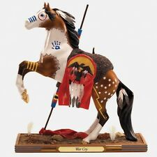 """War Cry Masterpiece Collection 15"""" Trail Of Painted Ponies Figurine 4018412 NIB!"""