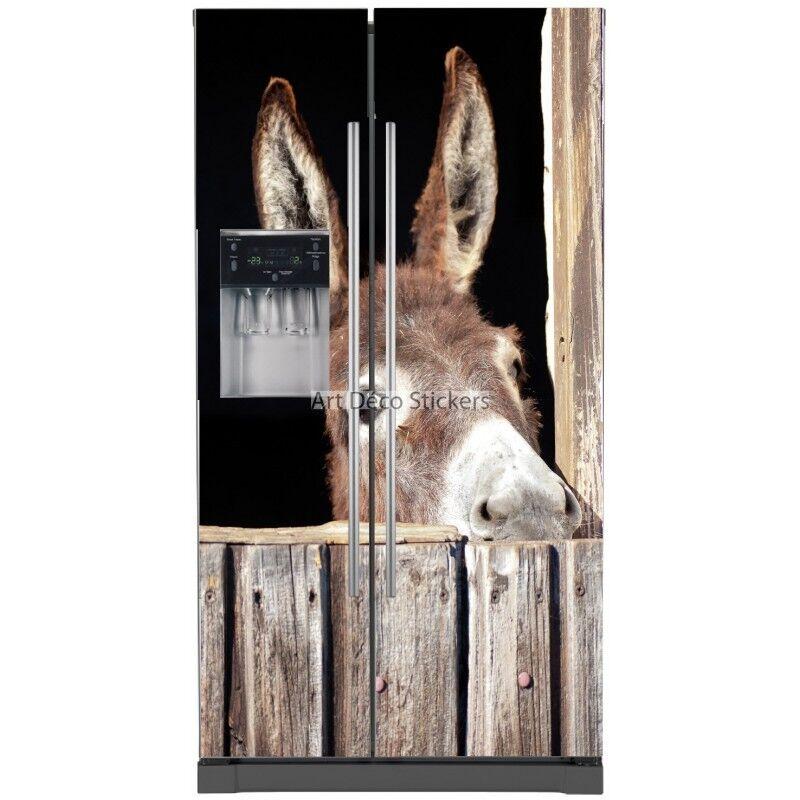 Aufkleber Kühlschrank Amerikanischer Esel 5785 5785