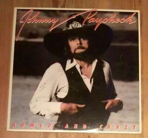 Johnny-Paycheck-Armed-And-Crazy-Vinyl-LP-Album-33rpm-1978-Epic-35444