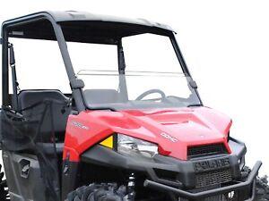 Superatv Half Windshield For Polaris Ranger Midsize 500 570 Ev Etx Ebay