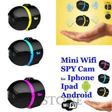 Ball Mini Wifi Remote Wireless Cam IP Spy Surveillance Camera For iPhone Android