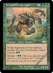 Green Odyssey Mtg Magic Rare 1x x1 1 Krosan Beast