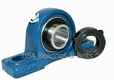 Ucp201 8 12 Inch Pillow Block Bearing And Double Split Shaft Collar Solid Foot